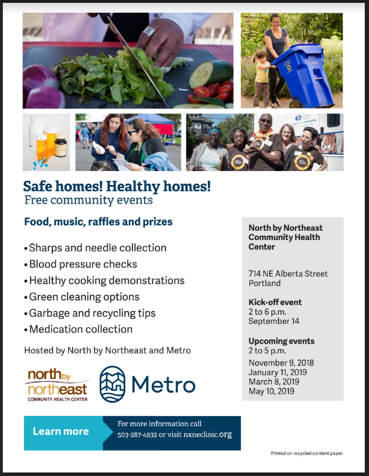 Safe homes! Healthy homes!