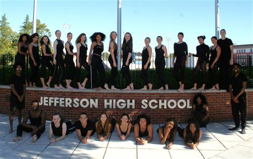 The Jefferson Dancers 2016-2017