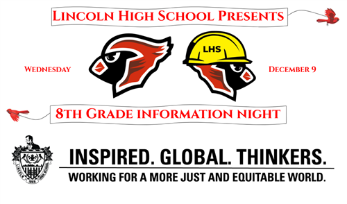 8th Grade Info Night