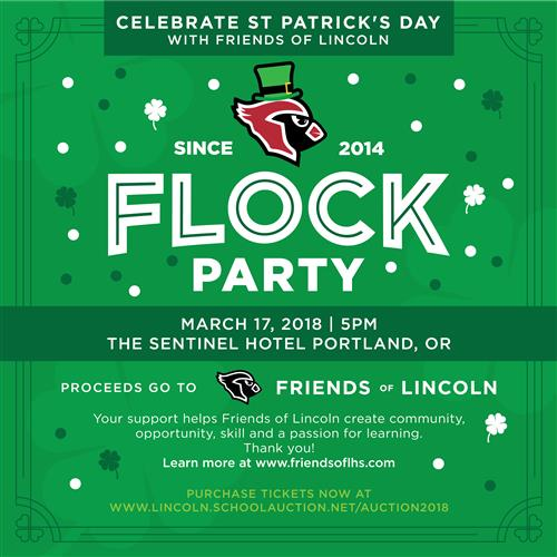 Flock Party Invitation