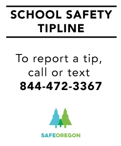 Safe Oregon Tipline