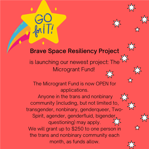 Brave Space Resiliency Project