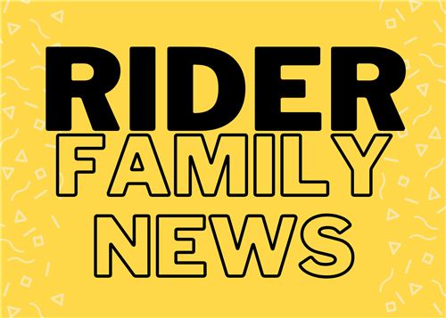 April, Rider Family News