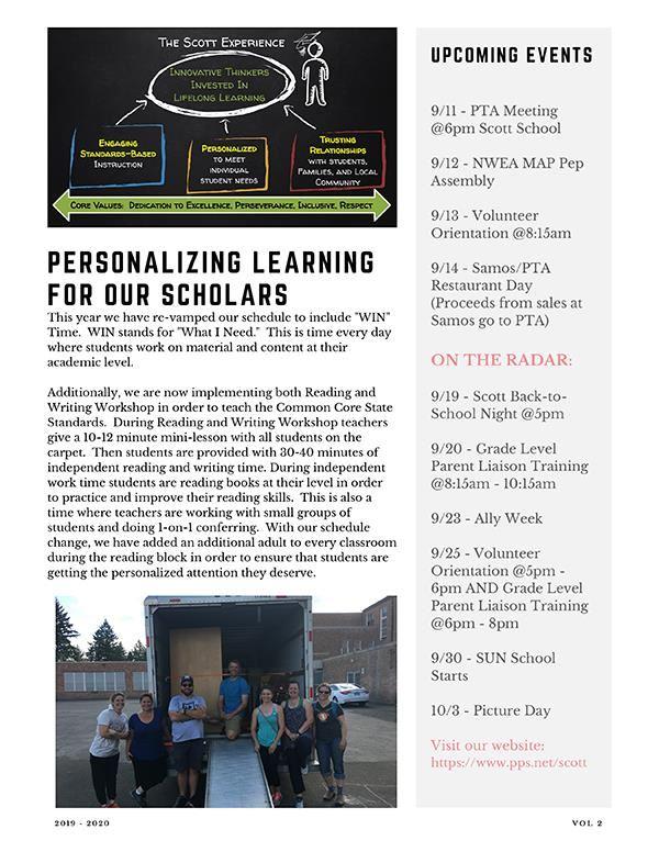 Scott Elementary School / Homepage