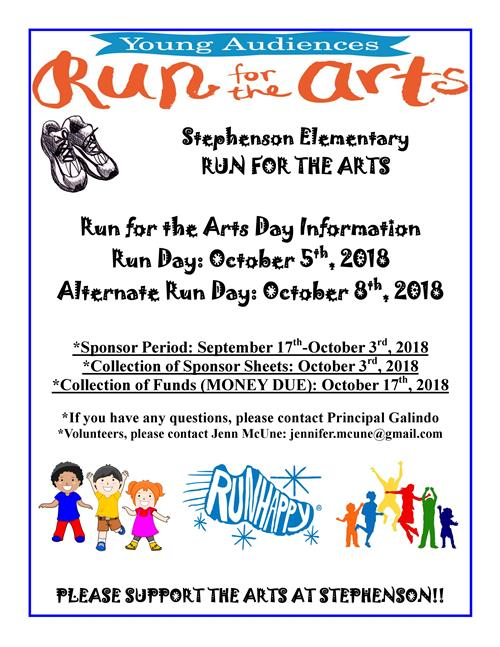 Run for the Arts 2018
