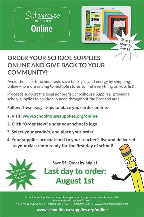 Schoolhouse Supplies Online