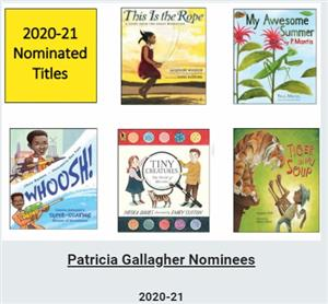 Patricia Gallagher Award Books