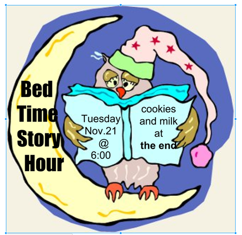 Bedtime Story hour