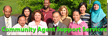 Community Agent Support Services group photo