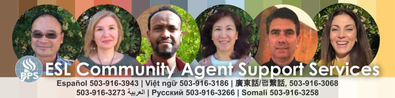 ESL Community Agent Support Services