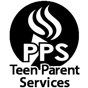 Portland Public Schools logo colored black