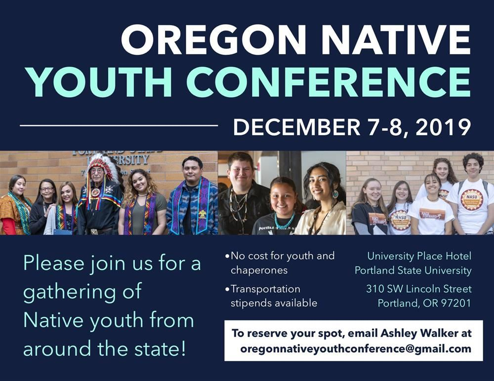 Oregon Native Youth Conference