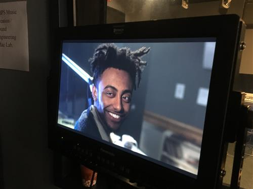 Amine Video Shoot