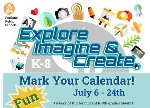 Explore, Imagine & Create!