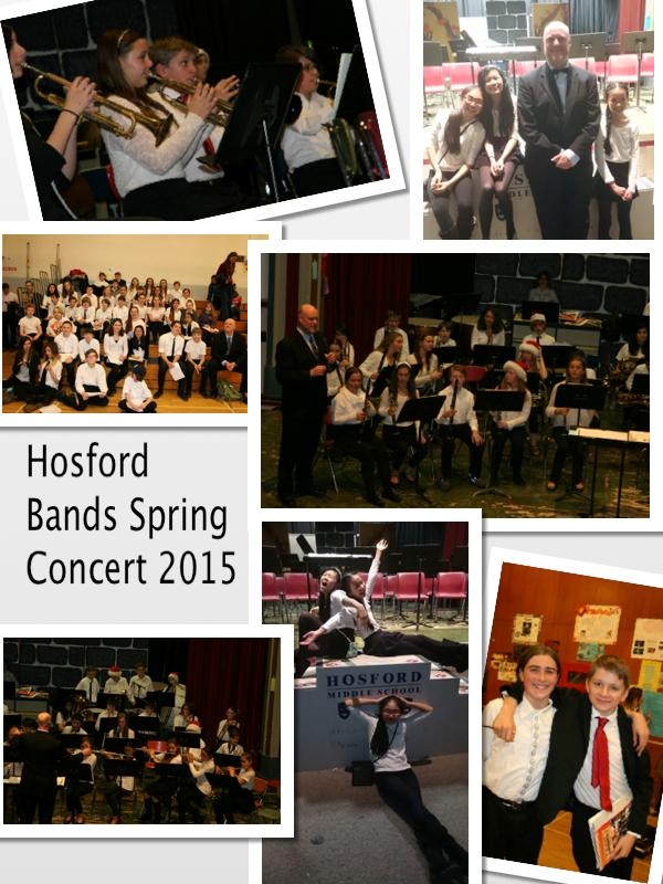 Hosford Band's Spring Concert