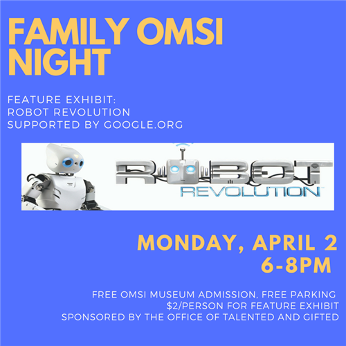 TAG Family Night at OMSI
