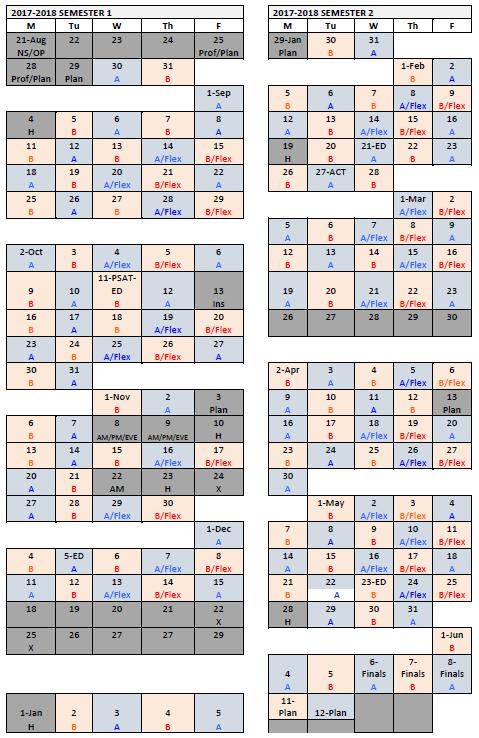 AB Calendar