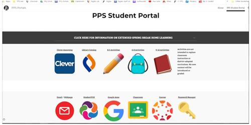 PPS Student Portal