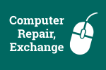 Click for computer repair, exchange information