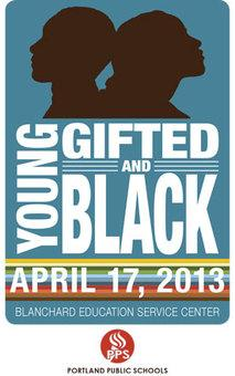 The cover of Young, Gifted, and Black 2013