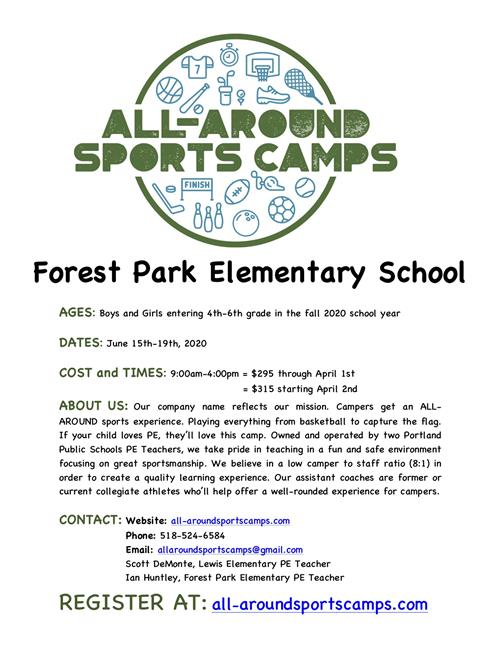 All-Around Sport Camps - Summer 2020