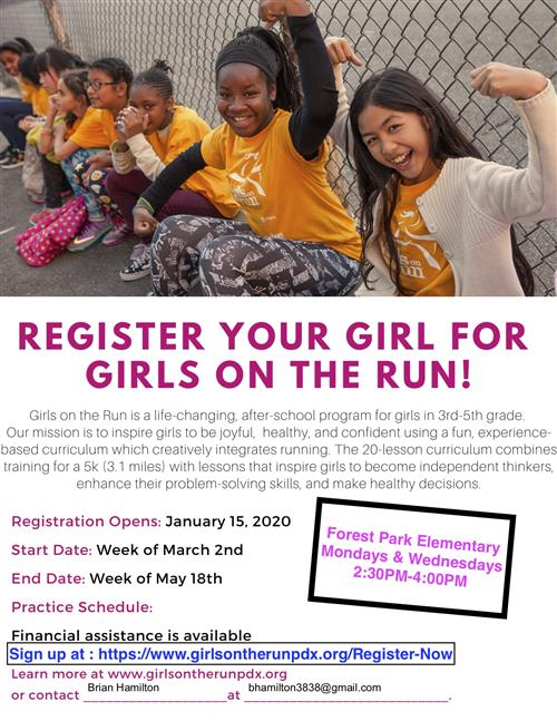 Girls on the Run 2020