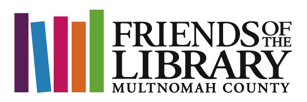 Friends of the Library logo.