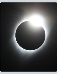 Image of solar eclipse.