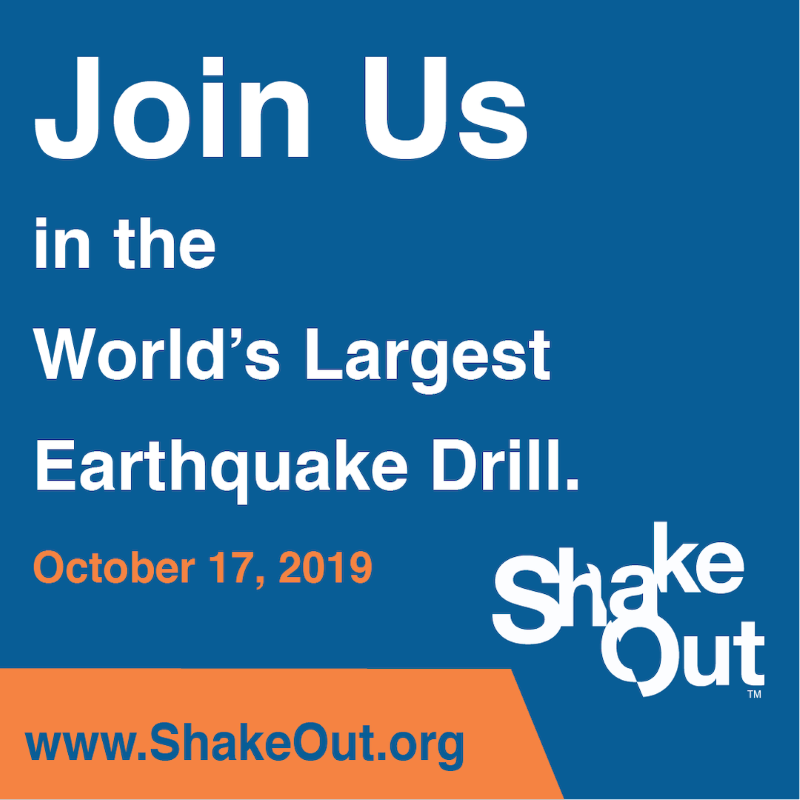 Great Shakeout logo