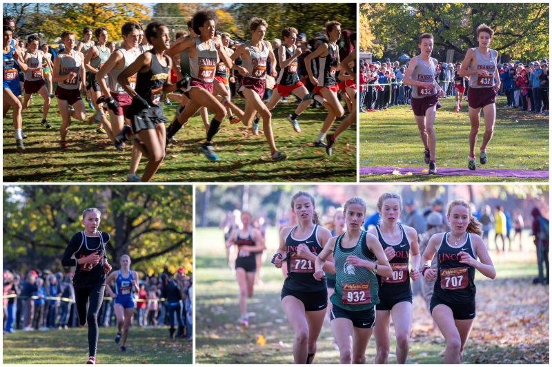 PIL cross country championships collage
