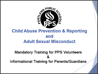 Child Abuse Prevention & Reporting and Adult Sexual Misconduct