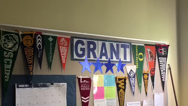 Grant High School College Acceptance Board