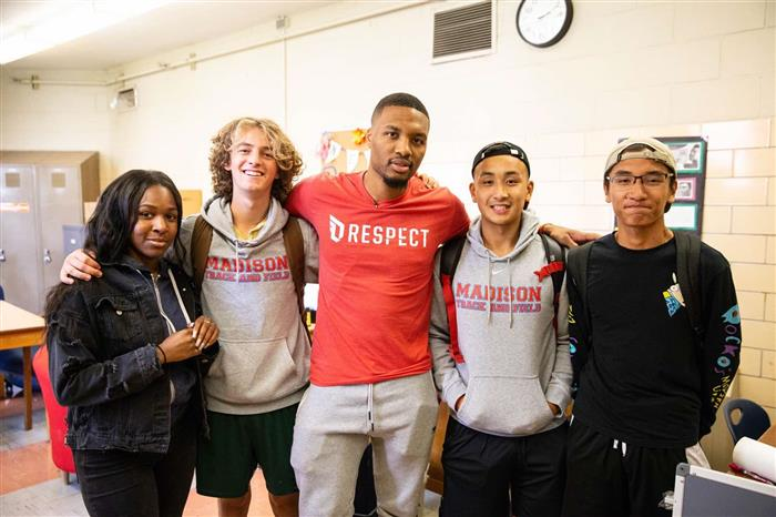 Damian Lillard RESPECT Program