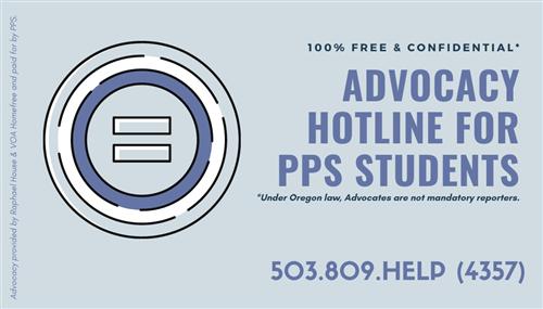 advocacy hotline
