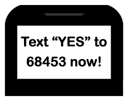 text yes logo