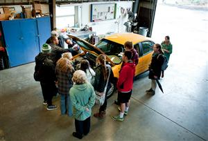 CTC Students Learn About Car Maintenance.