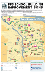 Bond Schools Map 2016