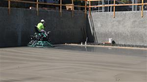 Concrete buffing Lincoln aug 2020