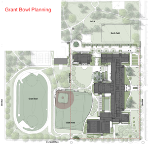 Grant Bowl Area  Map