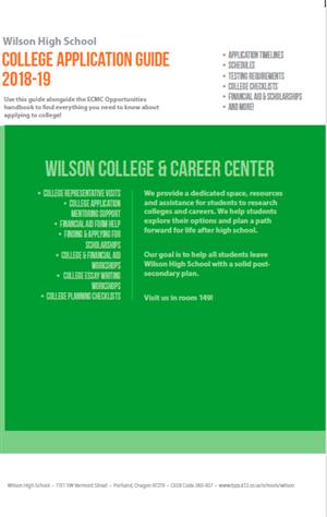 Beaverton School District Calendar 2020-18 College & Career / College & Career Center