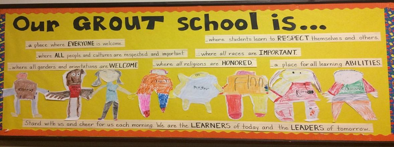 grout elementary school homepage