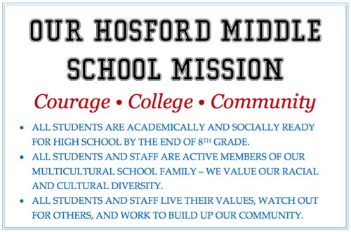 Hosford Mission Statement